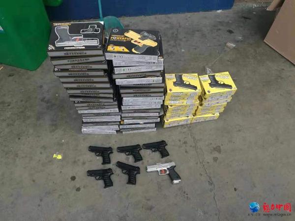 雪松派出所打击枪爆违法犯罪专项行动